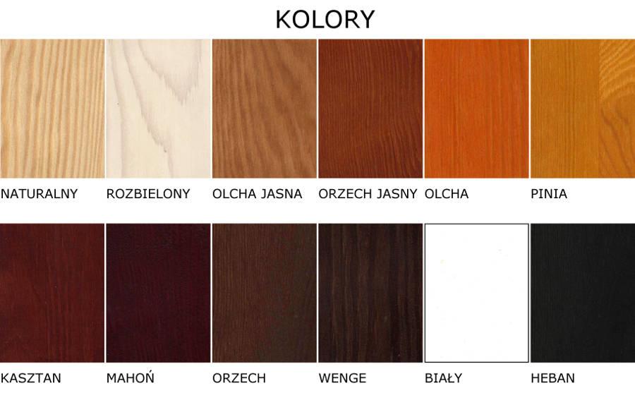 kolory sosnowe