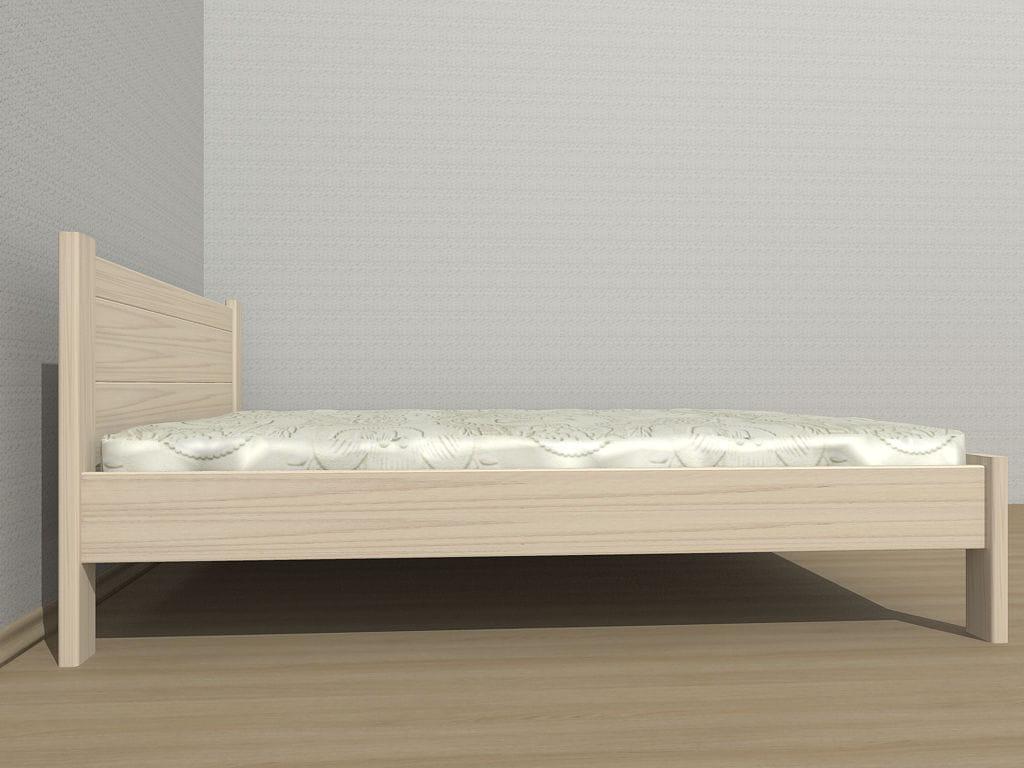 łóżko Wysokie